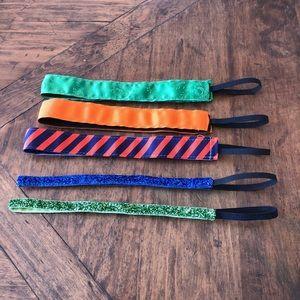 ⭐️🌸/$25 Set of 5 sports headbands
